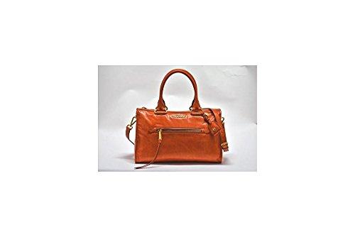 Miu-Miu-Shiny-Calfskin-Leather-Handbag-Papaya