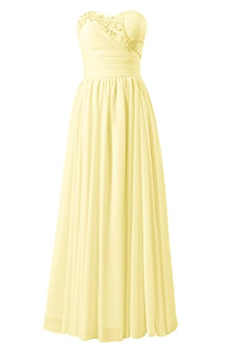 DaisyFormals Party BM1044 Beaded Dress Banana Chiffon Quality Bridesmaid 24 Dress rqwrgv