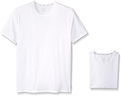 Calvin Klein Men's 2-Pack Modern Cotton Stretch Crew T-Shirt