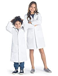 Dr. James Childrens Unisex Lab Coat With Safety Snap Buttons