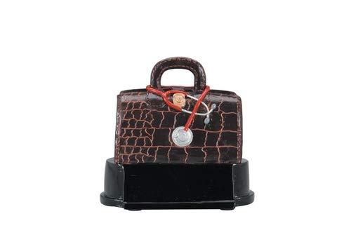 Decade Awards Doctor Bag Resin Trophy   Medical Bag Graduate Award   4 Inch Tall - Customize Now