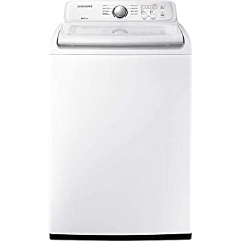 Amazon com: 'Samsung 4 5 Cu  Ft  White Top Load Washer