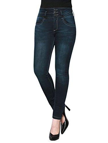 High Waist Trouser Jeans - 4