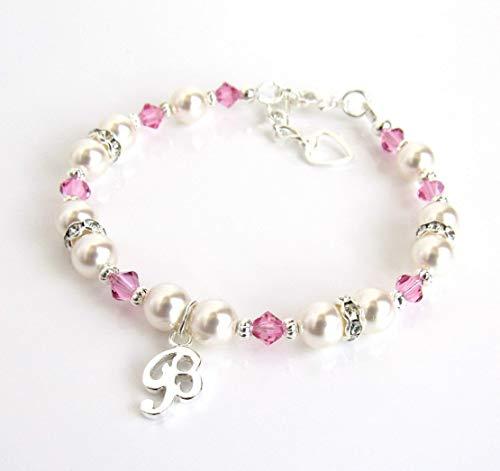 Personalized Jewelry for Girls, Charm Bracelets, CHOOSE CHARM/BIRTHSTONE/SIZE, Birthstone Jewelry for Girls