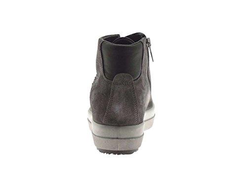 IGI & CO mujer dentro de las zapatillas de deporte de la cuña 67523/00 Grigio scuro