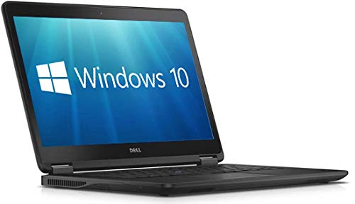 Dell Latitude E7450 Ultrabook – 14″ HD Display Intel Core i7-5600U 8GB 256GB SSD HDMI WiFi WebCam Windows 10 Pro 64-Bit Laptop (Renewed)