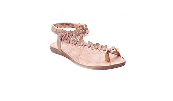 Fulision Bohemia sandals Women's summer Beach Flip Flops