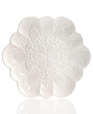 Martha Stewart Collection Figural Snowflake Salad -