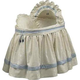 Babydoll Baby King and Queen Bassinet Liner/Skirt & Hood,...