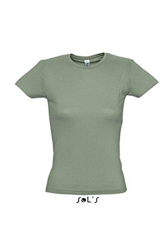 SOL´S Ladies T-Shirt Miss, Größe:XL, Farbe:Khaki