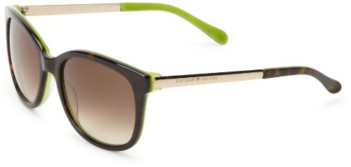 Kate Spade Gaylas Cat-Eye Sunglasses,Tortoise Kiwi,52 - Kate Case Spade Sunglass