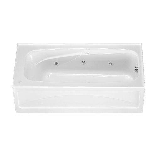 Tub Whirlpool Best - American Standard 1748.218.020 Colony 5-1/2-Feet by 32-Inch Left-Hand Whirlpool with Integral Apron and Hydro Massage System-I, White