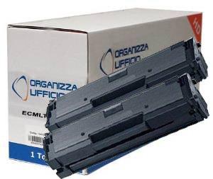 2 TONER COMPATIBILI per Samsung Durata ***1.800*** Pagine ALTA CAPACITA' al 5% di Copertura: Xpress M2020, M2020W, M2022, M2022W, M2070, M2070F, M2070FW, M2070W. MLT-D111S Organizza Ufficio ORG2070II