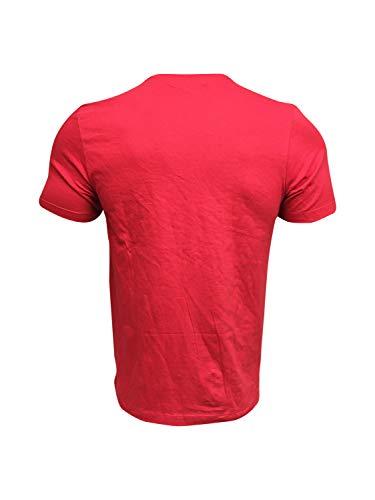 Nike Men's T-Shirt 100% Cotton Jordan DJ7010 Red (Small) 2
