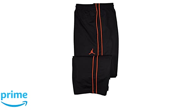 7e6816f6ba2f71 Amazon.com  Jordan Big Boys Athletic Training Pants-Black Crimson XL   Sports   Outdoors