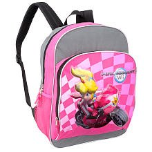 Price comparison product image Super Mario kart Wii Pink Backpack