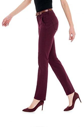 Cintura Salsa Slim Offerta Con Pantaloni Push In Rosa Secret Colorati wUpxqw0a
