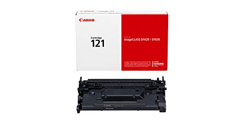 1650 Laser Printer - Canon Genuine Toner 121 [3252C001], 1-Pack (Black), Works with imageCLASS D1650, D1620