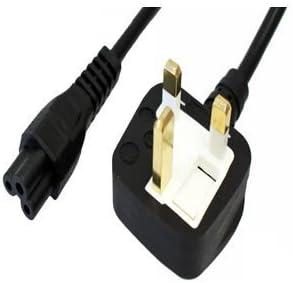 utilisation durable performance fiable guetter Cordon d'alimentation C5 Trèfle Câble secteur UK 3 broches ...