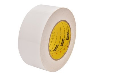 3M(TM) Preservation Sealing Tape 4811 White, 4 in x 36 yd, 12 per case - Sealing Preservation Tape