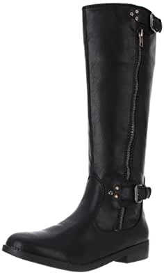 Amazon.com | R2 Women's Hanna Flat Boot, Black, 8 M US