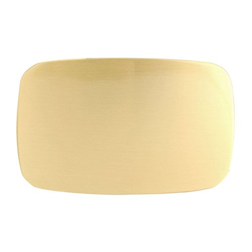 Faleto Solid Brass Rectangle Heavy Duty Belt Buckle Replacement for Pin Buckle-1.53