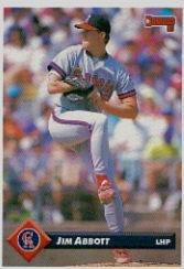 Amazoncom 1993 Donruss Baseball Card 35 Jim Abbott