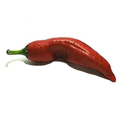 """Big Jim"" Hot Pepper Seeds, 100+ Premium Heirloom Seeds, Huge Peppers! Must Have in Home Garden! 85-90% Germination Rates, Capsicum annuum, (Isla's Garden Seeds) - Non GMO, Highest Quality : Garden & Outdoor"