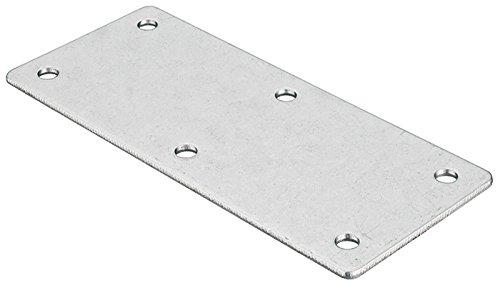 10 Stück - Möbelverbinder Metall Verbindungslasche mit 6 Anschraublöcher für Blenden & Möbel   Arbeitsplattenverbinder mit Länge 112 mm   Möbelbeschläge von GedoTec® GedoTec®