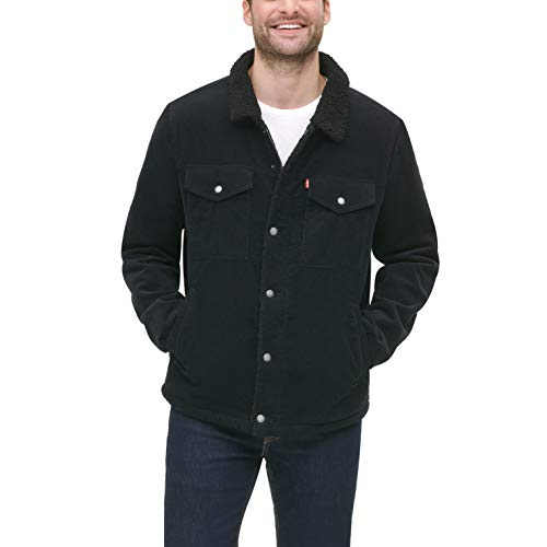 Levi's Men's Corduroy Sherpa Lined Trucker Jacket (Standard and Big & Tall)