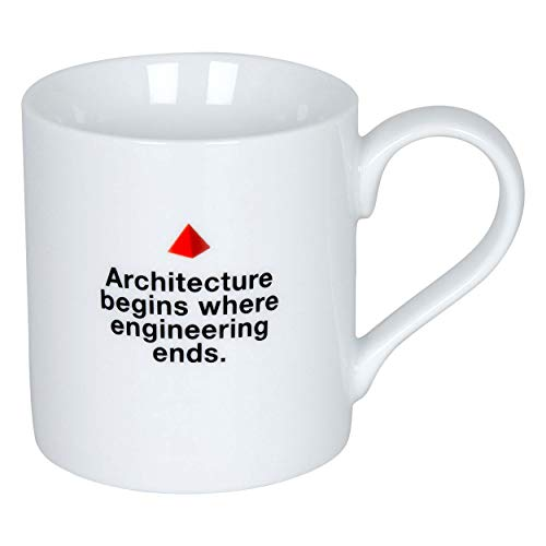 Könitz Bauhaus Mug - Architecture Begins Where Engineering Ends