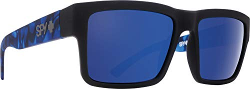 Spy MONTANA SOFT MATTE BLACK/NAVY TORT - HAPPY GRAY GREEN W/ DARK BLUE SPECTRA, One_Size (Spy Wayfarer)
