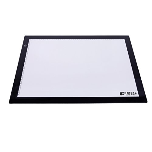 Jili Online A2-S LED Light Box Stencil Touch Board Copy Painting Drawing Board Table Pad by Jili Online