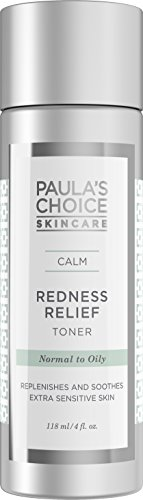 Paula's Choice CALM Redness Relief Toner, 4 Ounce Bottle, for Oily/Combination Sensitive Skin (Best Toner For Redness)
