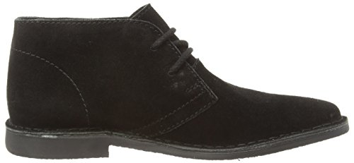 Tape Noir Suede Bottines black Gobi Red Homme dwxqdv
