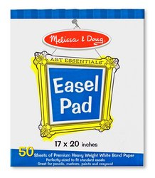 """Melissa & Doug - Easel Pad (17""""X20"""") (1 pack of 2 items)"""
