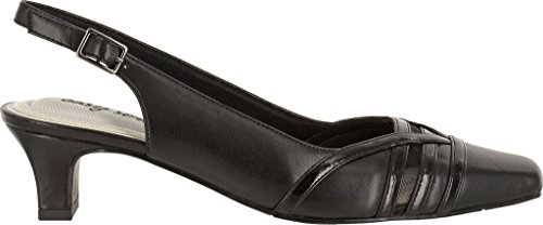 Easy Street Womens Kristen Dress Pump Black Patent