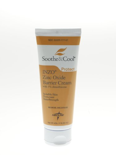 Invisible Zinc Oxide Barrier Cream - ^INZO Invisible Zinc Oxide Barrier Cream - 4 oz tube Min.Order is 1 CS ( 12 Each Case; )