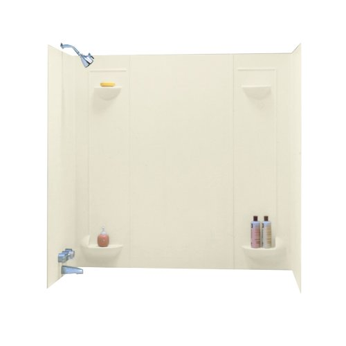 Best Price! Swanstone TF-57-037 Veritek Five Panel Tub Wall Kit, Bone Finish