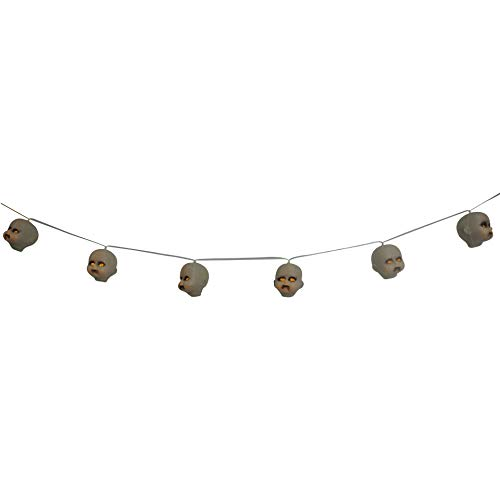 PAPER FIRST AFFILIATES Light Up Doll Head Garland