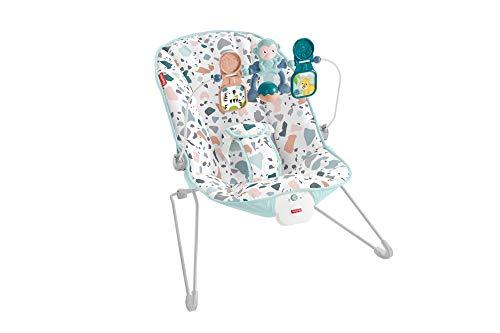 Fisher-Price GWD38 – basiswip met rustgevende trillingen tot 9 kg, babyuitrusting vanaf de geboorte