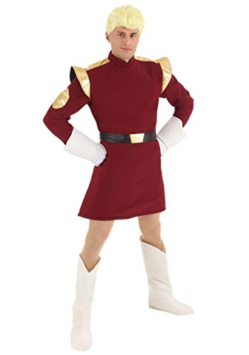 Zapp Brannigan Costume with Wig X-Large Red -