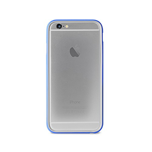 14 opinioni per Puro IPC655BUMPERBLUE Custodia per iPhone 6/6s Plus, Blu