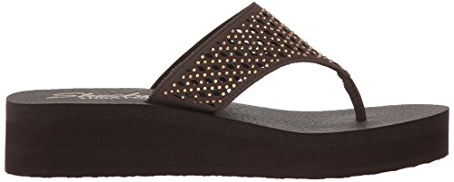 38648 Donna Skechers Infradito Skechers Chocolate 38648 Tw6qpEP