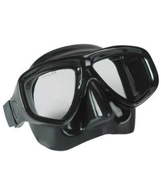 (Dive Rite 125 Double Lens Low Profile Scuba Diving Mask with Box - Prescription Lens Optional)