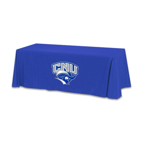Christopher Newport Royal 6 foot Table Throw 'Official Logo' by CollegeFanGear