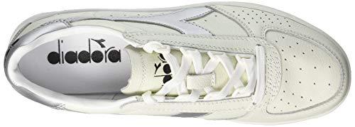 L Adulto Diadora Unisex – B Multicolore C0516 Argento Elite Sneaker Bianco fHqHS1nw7