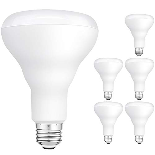 (Hykolity 6 Pack Flood Light Bulbs, BR30 LED Bulb for Indoor/Outdoor Downlight Recessed Can Light, Dimmable, 11W=75W, 5000K Daylight, 850lm, E26 Base )