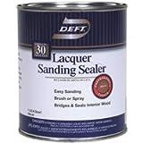 deft laquer sanding sealer - Lacquer Sanding Sealer, Quart 2PK