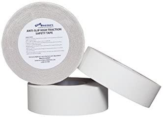 White or Clear Anti Slip Safety Grit Non Slip Tape White - 2 width x 60 long Highest Traction 60 Feet Many Sizes